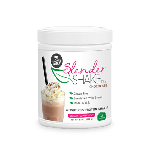 Slender Shake Plus – 50 Calorie Chocolate Weightloss Protein Shake