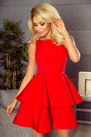 Numoco 169-1 Dress CRISTINA - red
