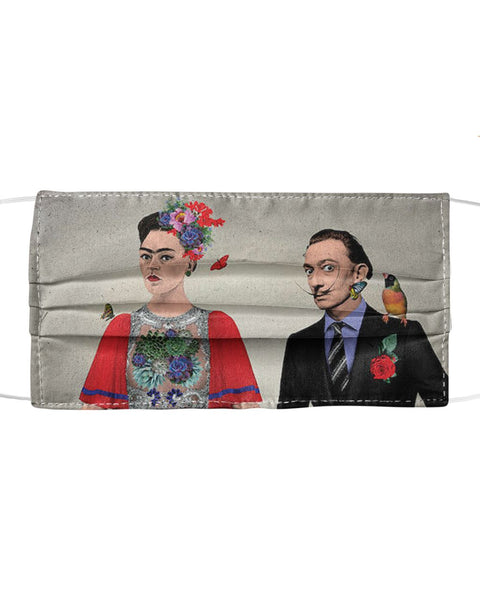 Frida & Dali Mask