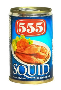 555 SQUID IN NATURAL INK 155G - JayMaya