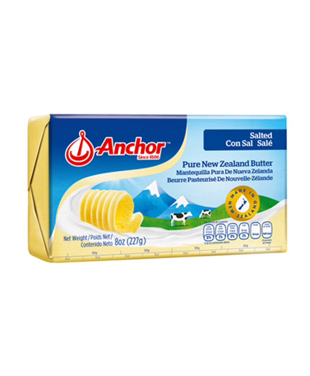 ANCHOR BUTTER SALTED 227G - JayMaya