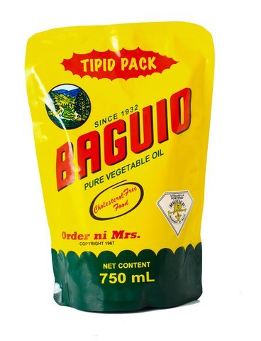 BAGUIO PURE VEGETABLE OIL POUCH - JayMaya