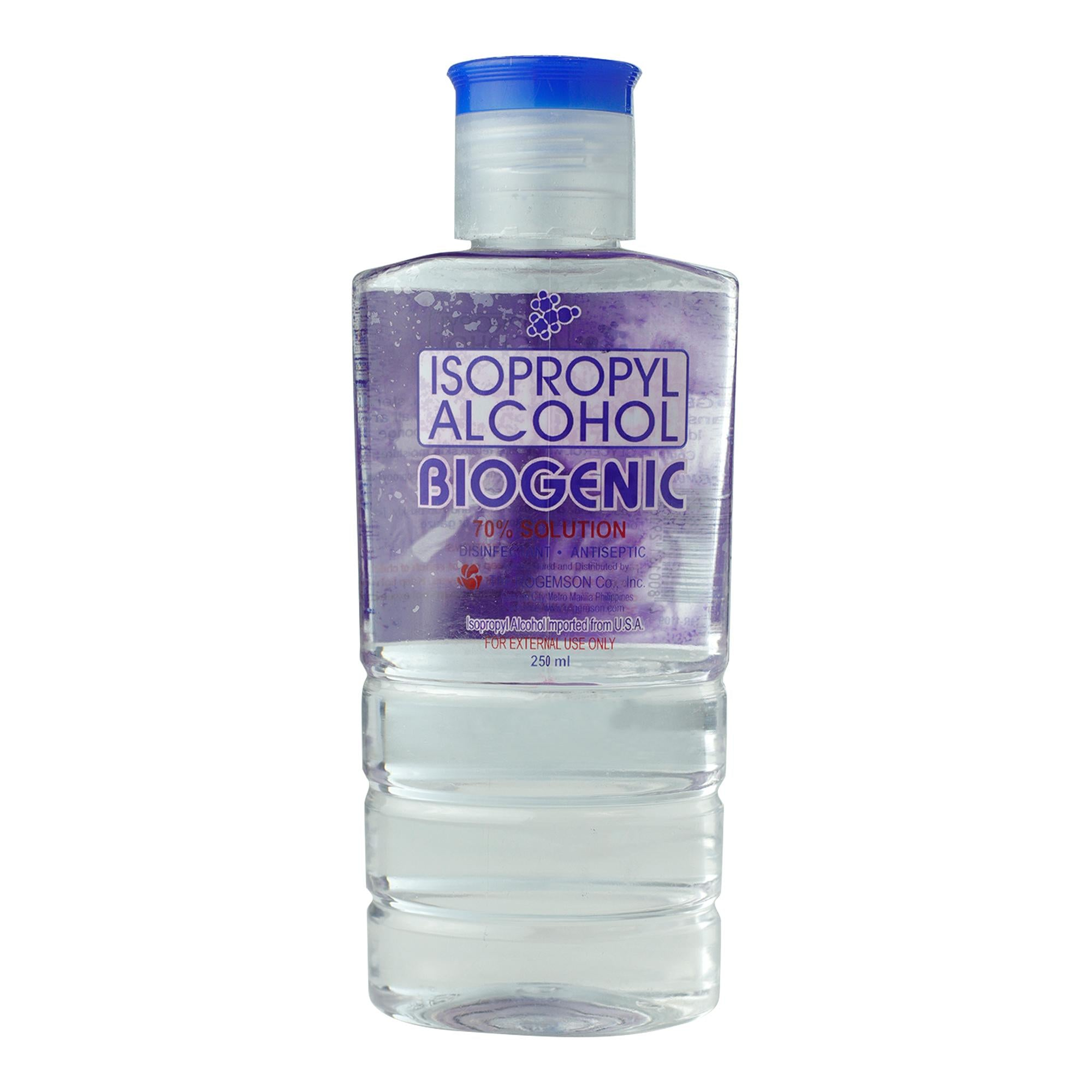 BIOGENIC ALCOHOL ISOPROPYL 70% SOLUTION - JayMaya