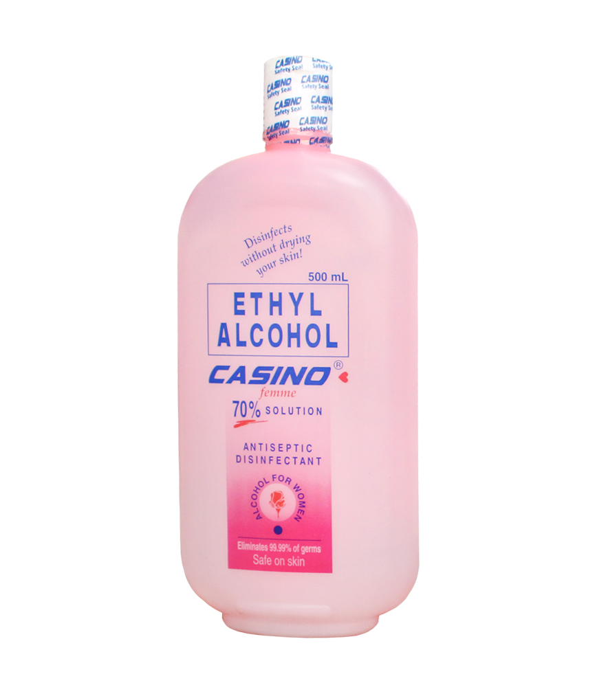 CASINO ETHYL ALCOHOL 70% SOLUTION FEMME - JayMaya