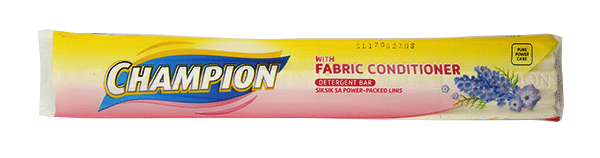 CHAMPION DETERGENT BAR WITH FABRIC CONDITIONER 390G