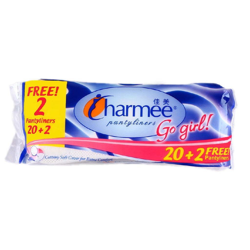 CHARMEE  PANTY LINERS COTTONY SOFT GO GIRL