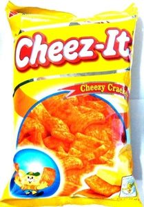 CHEEZ-IT SNACK CHEESE FLAVORED CRACKERS