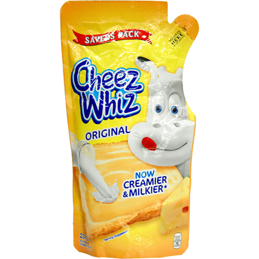 CHEEZ WHIZ PLAIN POUCH