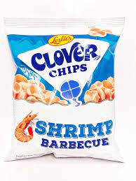CLOVER CHIPS SHRIMP BARBEQUE