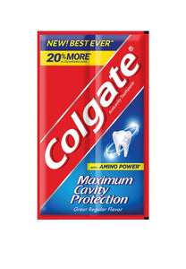 COLGATE TOOTHPASTE GREAT REGULAR FLAVOR 24G (QTY:12)