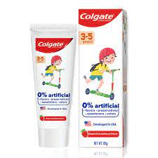 COLGATE TOOTHPASTE KIDS 3-5 YEARS OLD 80G