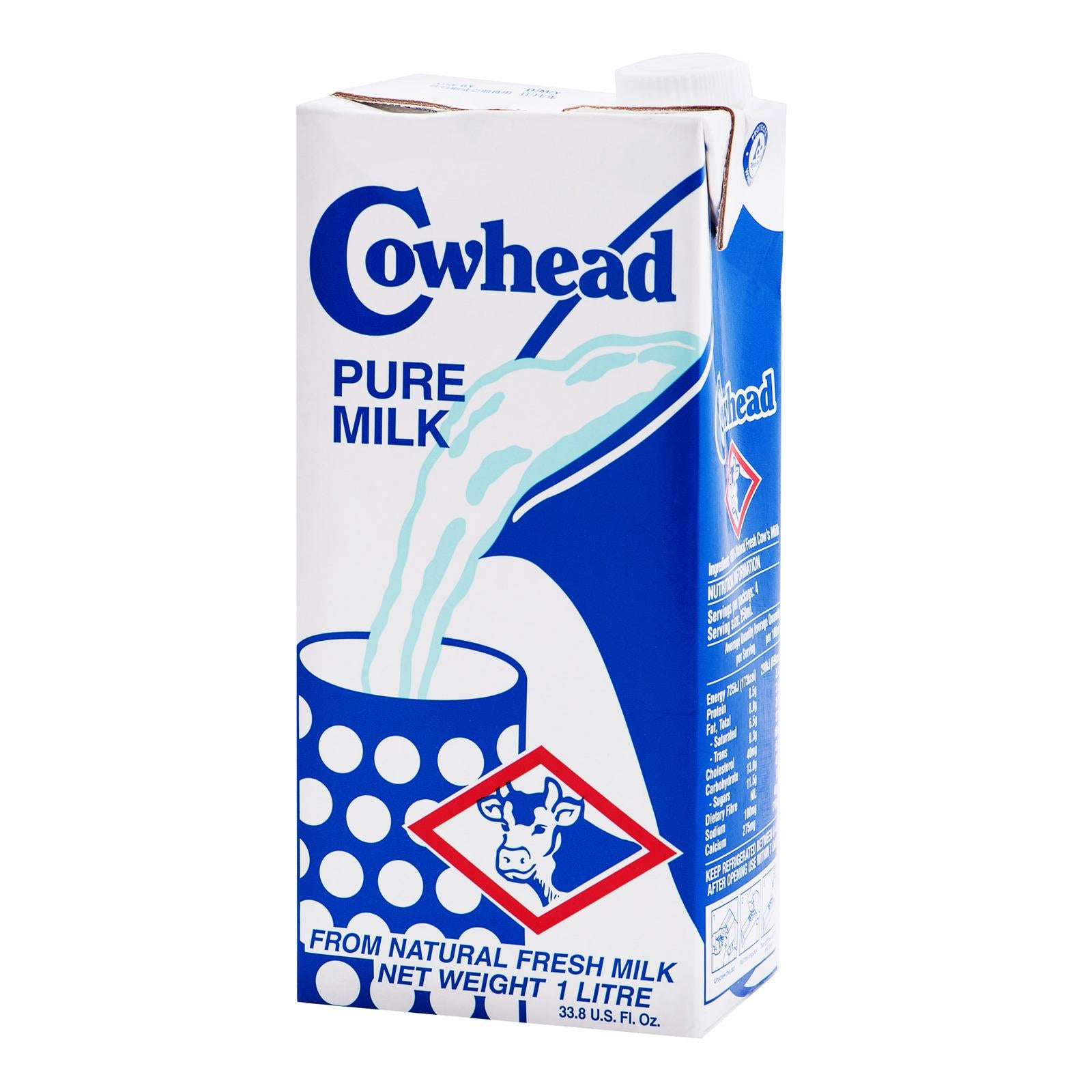COW HEAD PURE MILK