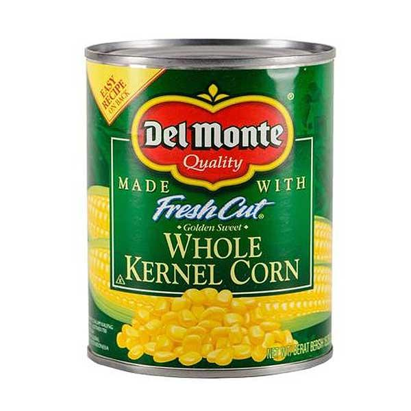 DEL MONTE FRESH CUT WHOLE KERNEL IMPORTED 432G