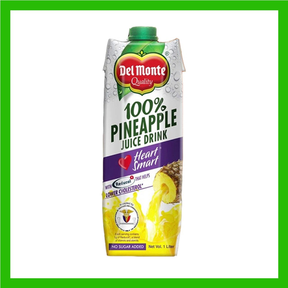 DEL MONTE PINEAPPLE JUICE HEART SMART 1L