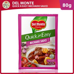 DEL MONTE QUICK 'N EASY RECIPE MIX MECHADO SAUCE 80G