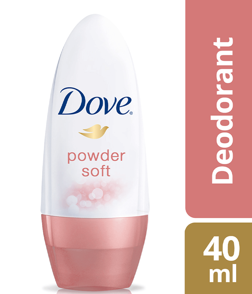 DOVE DEODORANT ROLL ON POWDER SOFT 40ML