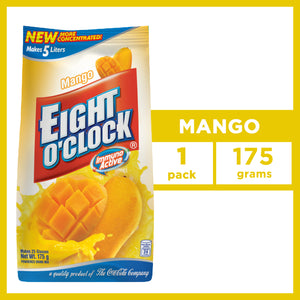 EIGHT O CLOCK POWDERED DRINK MIX MANGO