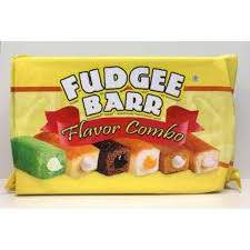 FUDGEE BARR COMBO ASSORTED FLAVOR 39G (QTY:10)