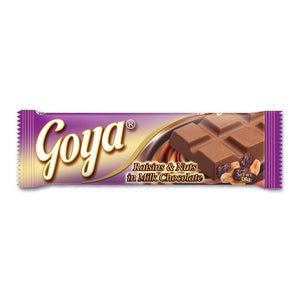 GOYA BAR RAISIN & NUT 35G
