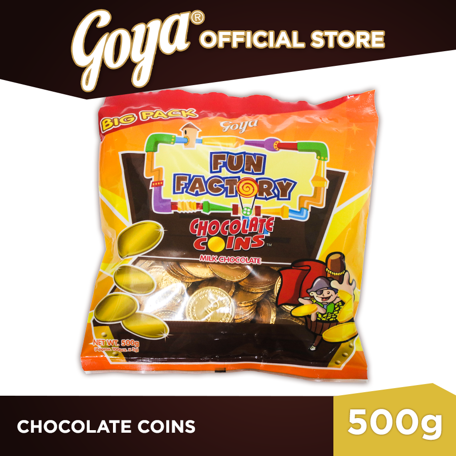 GOYA CHOCOLATE COINS MILK CHOCOLATE
