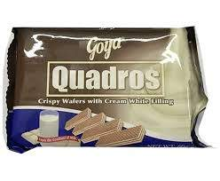 GOYA QUADROS CREAM WHITE 60G