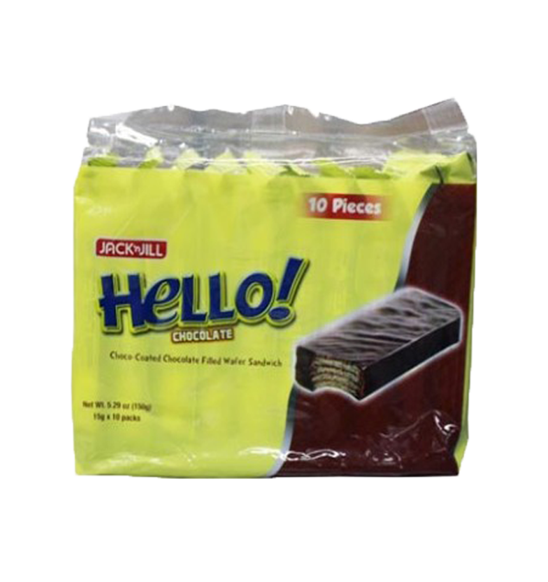 HELLO CHOCOLATE 15G (QTY:10)