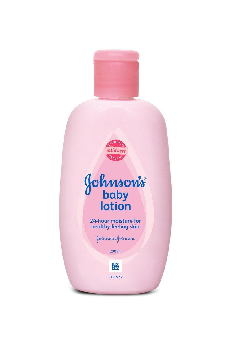 J&J JOHNSON'S BABY LOTION PINK