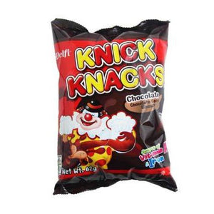 KNICK KNACKS CHOCOLATE COATED BISCUITS