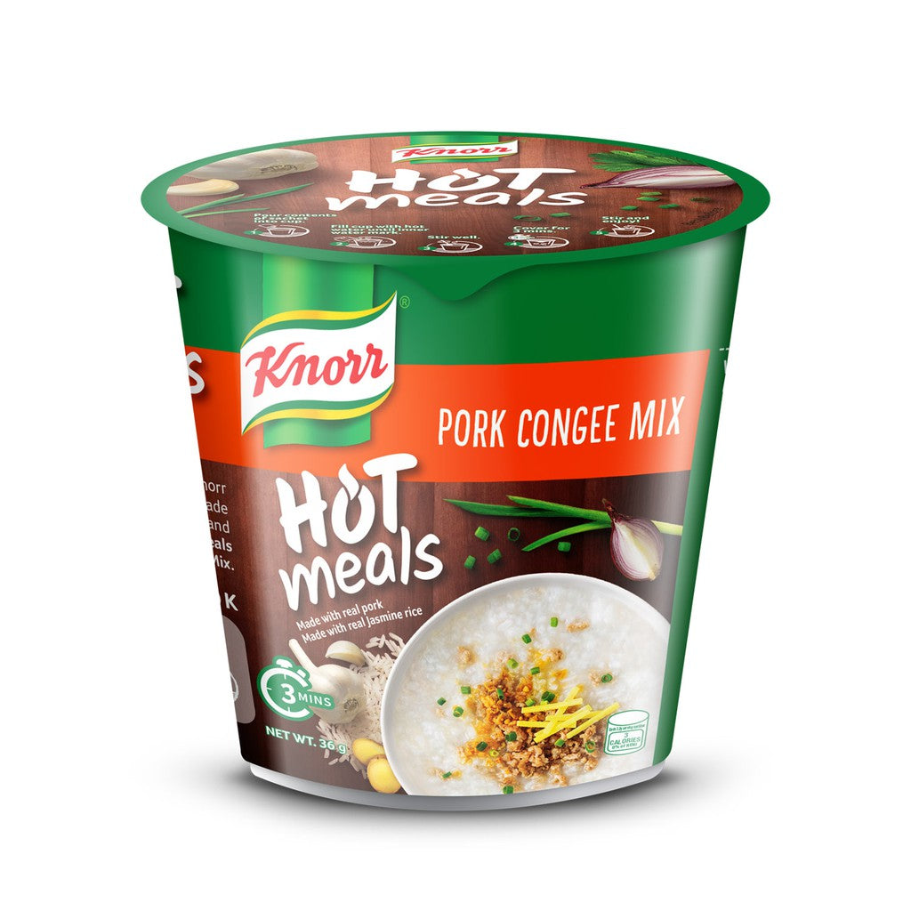 KNORR HOT MEAL INSTANT PORK CONGEE 35G