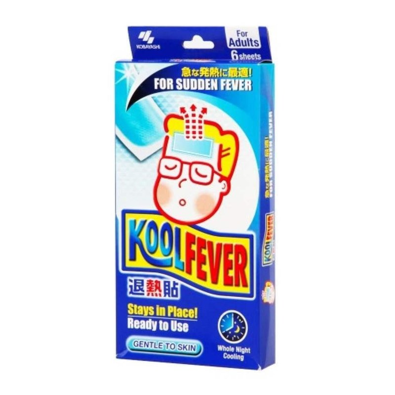 KOOLFEVER COOLING GEL ADULT (QTY:6)