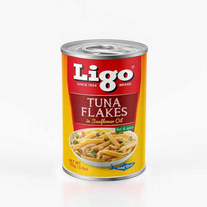 LIGO TUNA IN SUNFLOWER OIL HOT & SPICY