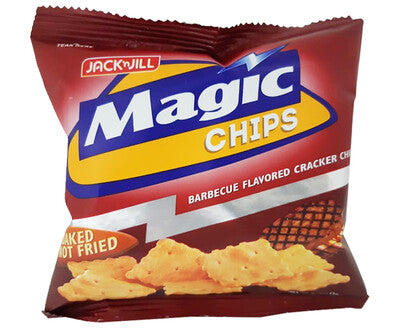 MAGIC CHIPS BAKED NOT FRIED BARBEQUE FLAVOR 100G