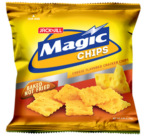 MAGIC CHIPS BAKED NOT FRIED CHEESE FLAVOR 100G
