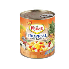 MEGA PRIME TROPICAL FRUIT COCKTAIL IN EXTRA LIGHT SYRUP