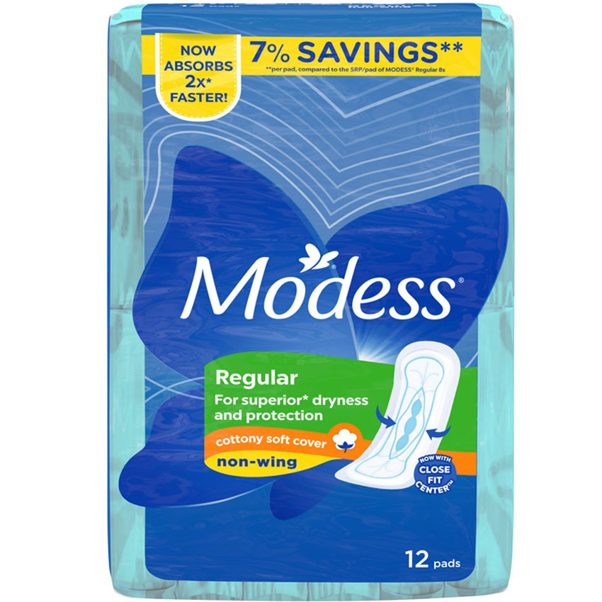 MODESS COTTONY SOFT REGULAR MAXI NON-WING
