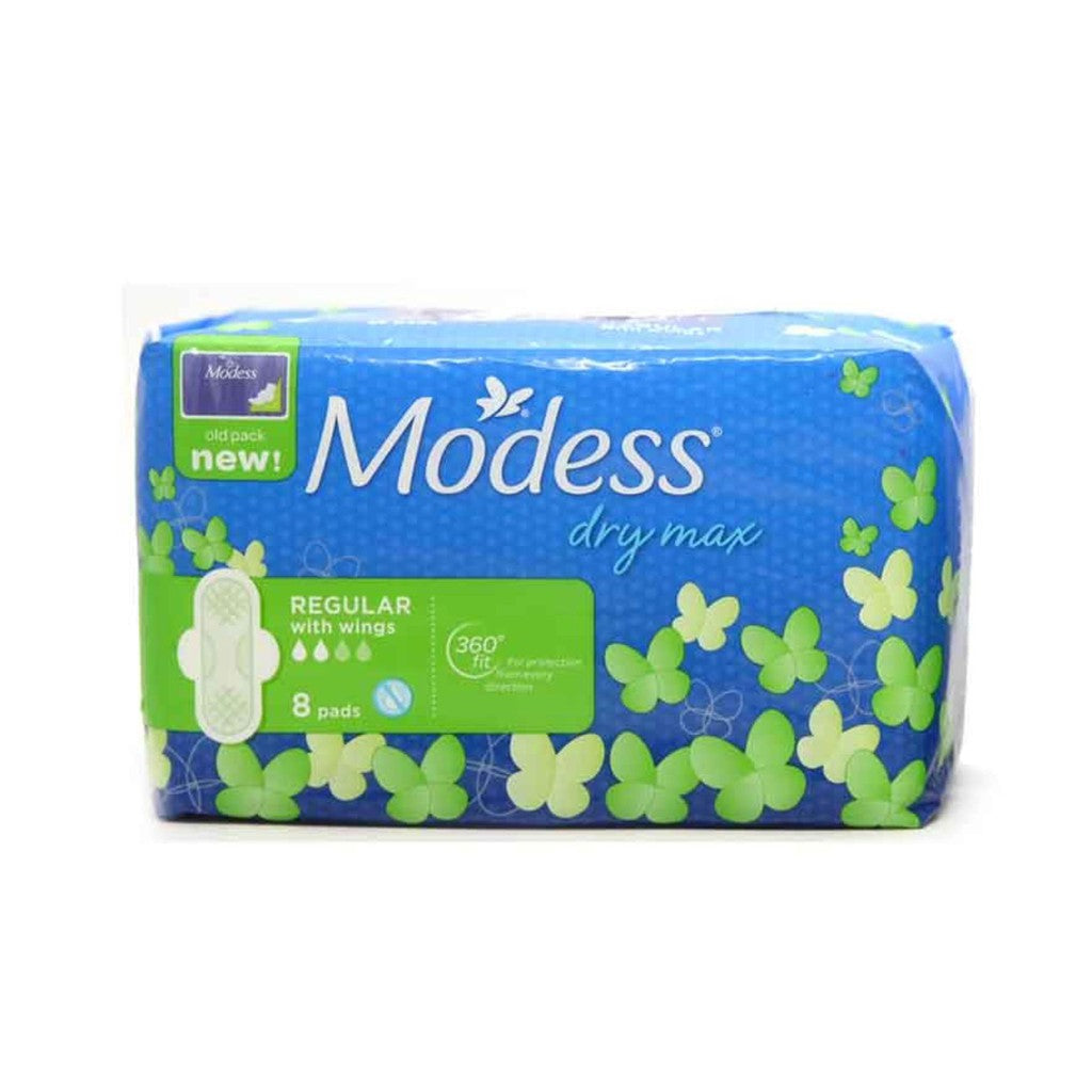MODESS DRY MAX REGULAR WINGS (QTY:8)