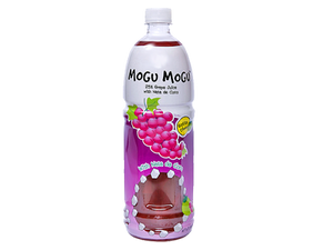 MOGU MOGU JUICE WITH NATA DE COCO GRAPE