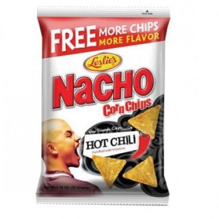 NACHO CORN CHIPS HOT CHILI