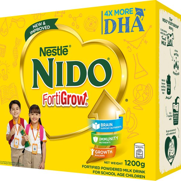 NIDO FORTIGROW POWDERED MILK