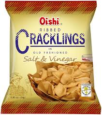 OISHI CRACKLING SALT & VINEGAR