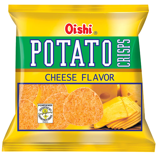 OISHI POTATO CRISP CHEESE