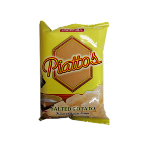 PIATTOS POTATO CRISP PLAIN SALTED FLAVOR