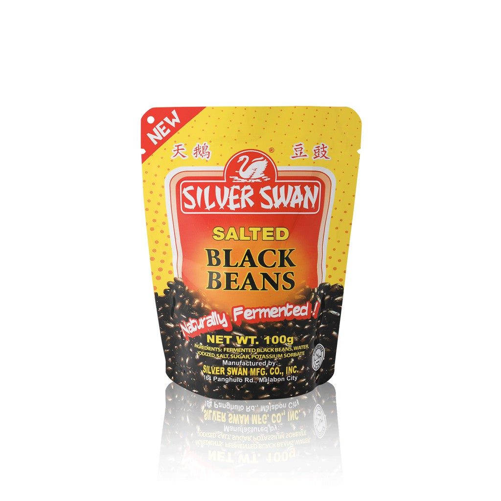 SILVER SWAN SALTED BLACK BEANS 100G
