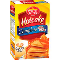 WHITE KING COMPLETE HOTCAKE MIX WITH SYRUP
