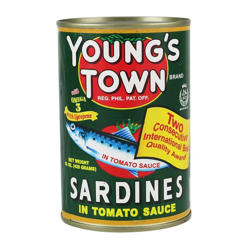 YOUNG'S TOWN SARDINES IN TOMATO SAUCE