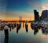 Docklands Sunset - Jigsaw Puzzle