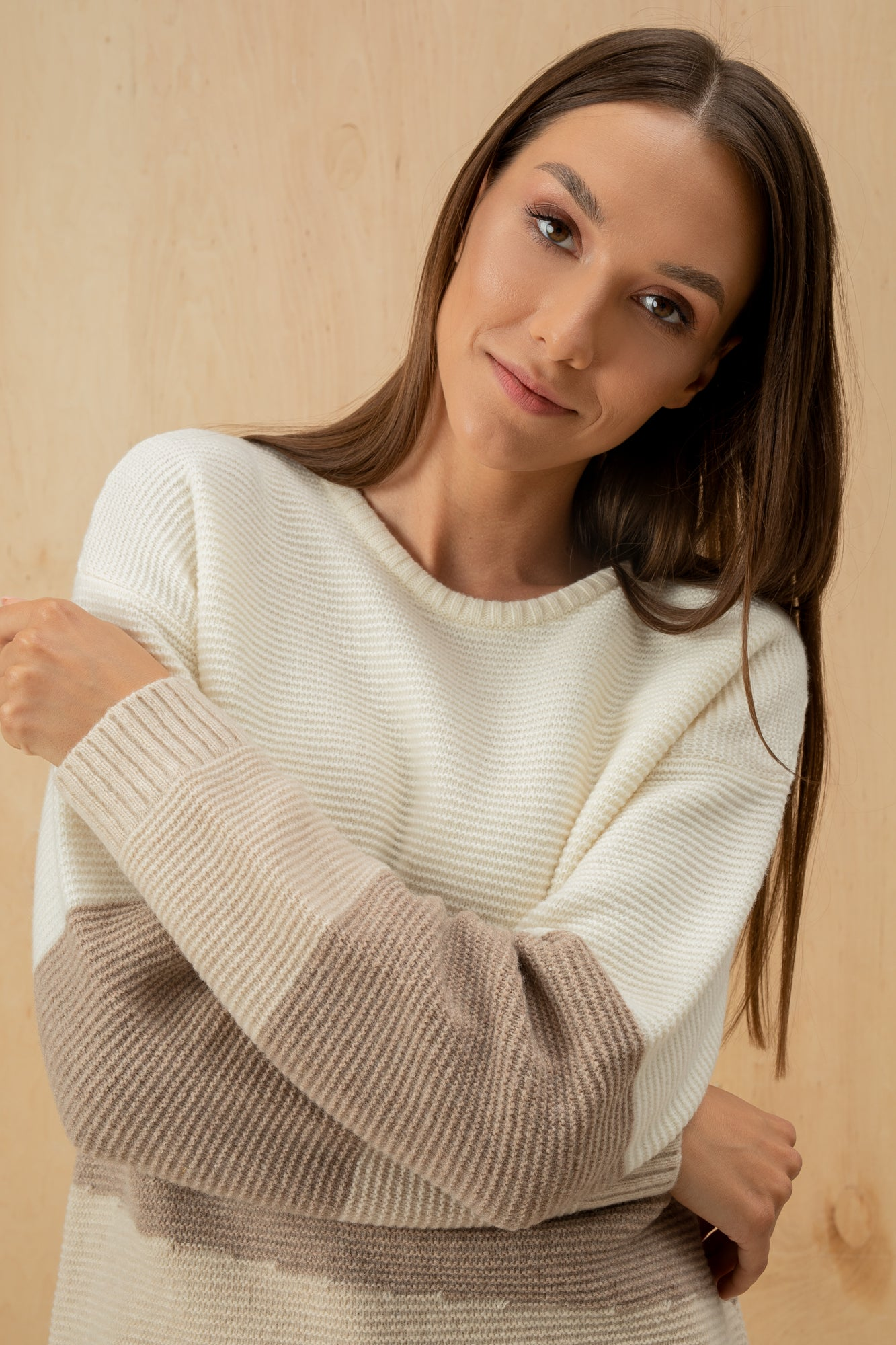 Women's Italian Lambswool Oversize Sweater