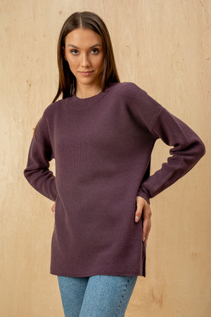 Women's Italian 100% Extrafine Merino Wool Loose Sweater