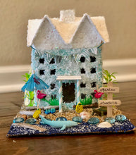 Load image into Gallery viewer, Beach Glitter House Art Kit