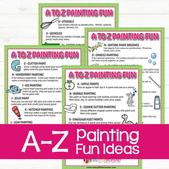A-Z Painting Fun